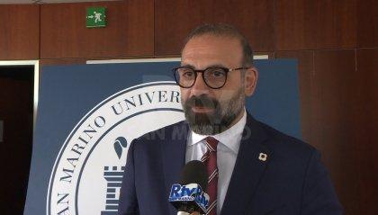 Il responsabile marketing della Lega Calcio di Serie A Fabio Santoro in cattedra a San Marino