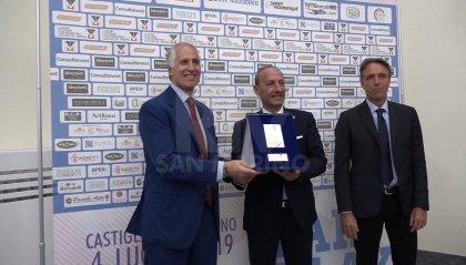 Il Coni premia il Comitato Olimpico Sammarinese per i 60 anni di attività: onorati i valori sociali dello sport