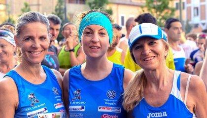 I runners GPA a Cesena per la Notturna di San Giovanni