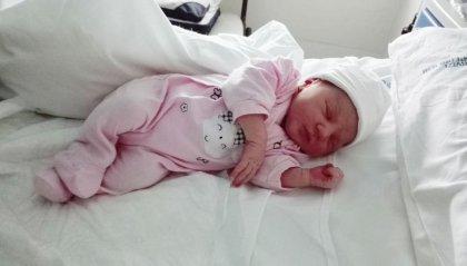 Fiocco rosa a Rtv, è nata Giulia
