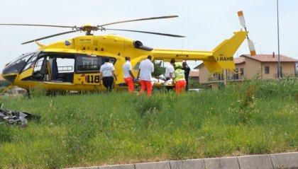Gravi due centauri dopo altrettanti incidenti a San Giovanni in Marignano e a Rimini