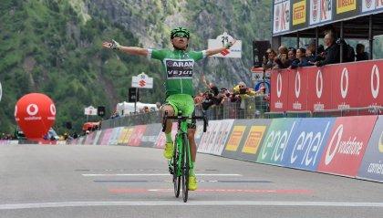 Giro Under 23: il Passo Fedaia - Marmolada incorona il colombiano Andres Camilo Ardila