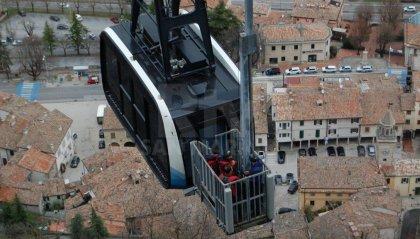 Funivia in blocco, giovedì un'esercitazione per recuperare i passeggeri