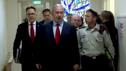 """Netanyahu: """"Israele ascolterà in modo aperto il piano di pace statunitense"""""""
