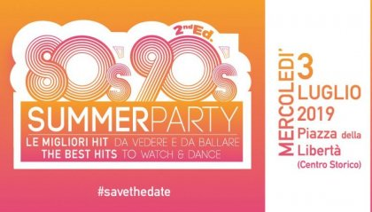 Torna 80s 90s Summer Party a San Marino