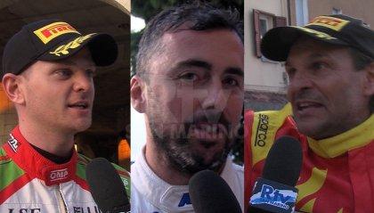 Rally San Marino: le interviste a Consani, Ceccoli e Andreucci