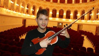 Federico Mecozzi apre il 35° Music Festival di Verucchio