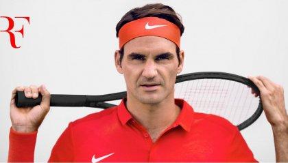 Roger Federer campione al di là della rete