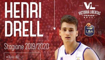 VL Pesaro: ufficiale Henri Drell firma per tre anni