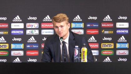 """Juventus, ecco De Ligt: """"Voglio ripagare l'entusiasmo dei tifosi, dobbiamo vincere tutto"""""""