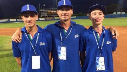 Baseball: Ercolani e Beccari in semifinale all'Europeo U15