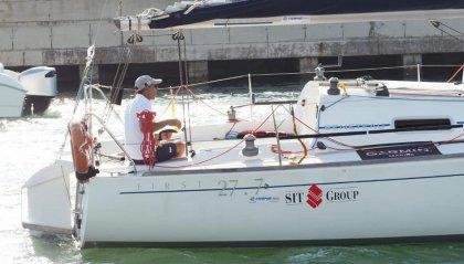 Progetto Sail4africa, Marcello Michelotti è arrivato a Cagliari