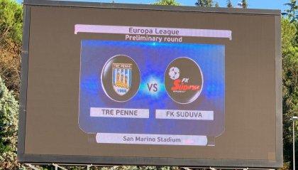 Il Suduva passa 5-0 allo Stadium ma è un buon Tre Penne