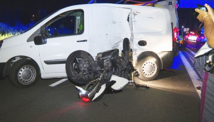 Rimini: motociclista in gravissime condizioni dopo uno scontro sulla Statale 16