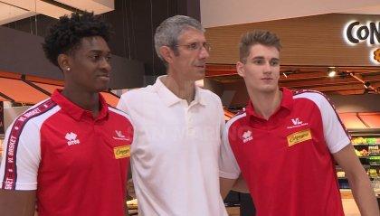 La Carpegna Prosciutto Basket Pesaro presenta Paul Eboua e Henri Drell