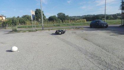 Incidente sulla marecchiese: coinvolta auto sammarinese
