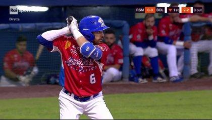 Finale Baseball: Bologna vince la Gara1 contro San Marino