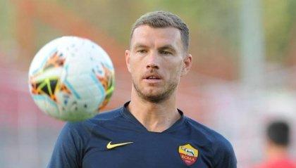 Dzeko rinnova con la Roma fino al 2022