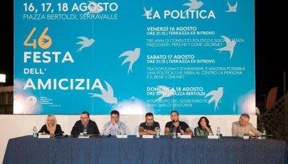 Festa dell'Amicizia: sindacati e categorie economiche bocciano il Governo, la Dc chiede le elezioni