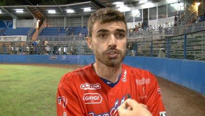 """San Marino Baseball, Giordani: """"Contento per il fuoricampo ma dobbiamo pareggiare la serie"""""""