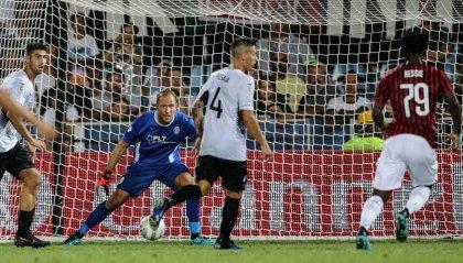 Cesena, che serata. Al Manuzzi Milan fermato sullo 0-0