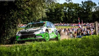 Barum Rally, la nona sinfonia di Jan Kopecky
