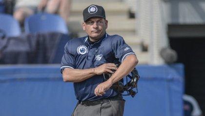 Alessandro Spera, arbitro di baseball