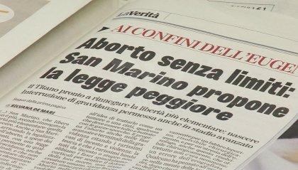 """Legge IVG a San Marino, La Verità: """"Aborto senza limiti, la legge peggiore"""""""