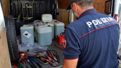 Arrestati due moldavi per furto gasolio e possesso pistola clandestina