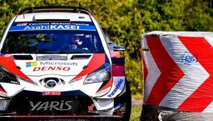 Mondiale Rally: Ott Tänak al comando della gara