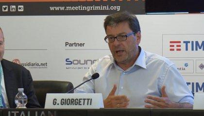 """La crisi politica si trasferisce al Meeting. Giorgetti (Lega): """"Mancava metodo di governo, impossibile andare avanti"""""""