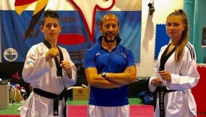 Taekwondo: inizio attivita 2019/2020 con Genghini e Tosi in Svezia al WTE Under 21 Championships 2019