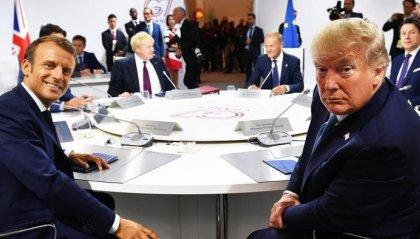 Ultima giornata al G7: Macron e Trump chiudono il vertice