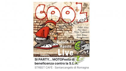 Si Party....MotoFesta di beneficenza contro la SLA