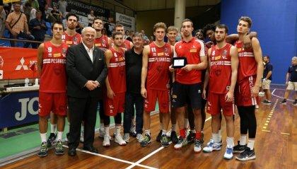 Rimonta per la Carpegna Prosciutto Basket Pesaro che cede a Reggio Emilia per 93-81