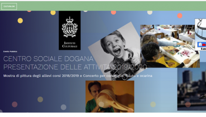 Presentazione delle attività 2019/2020