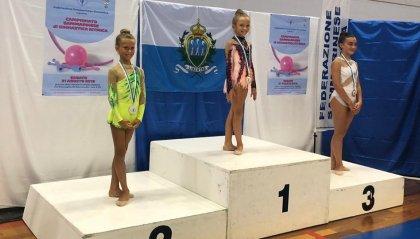Società sportiva Ginnastica San Marino in pedana per le prime prove