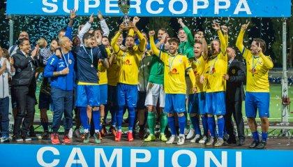 Il Tre Fiori vince la Supercoppa Sammarinese, 2-1 sul Tre Penne
