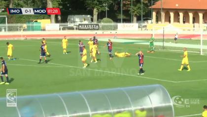 Il Modena passa a Imola con un gol di Rossetti