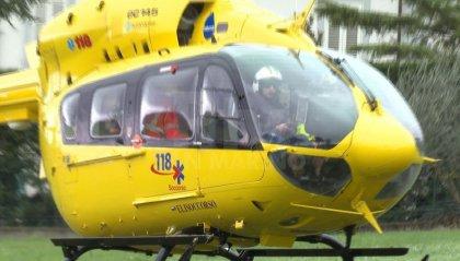 Ventoso: 68enne cade in bici, ricoverato a Cesena in condizioni gravi