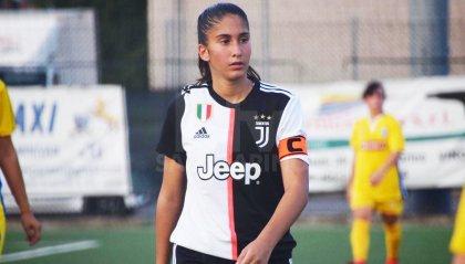 Femminile: debutto da capitano per Chiara Beccari con la Juventus
