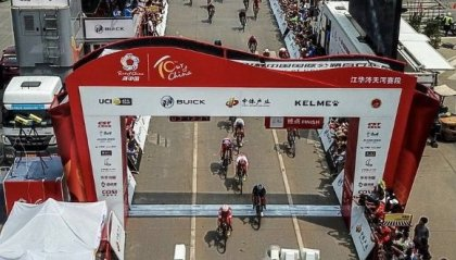 Tour di Cina: Benfatto vince la prima tappa