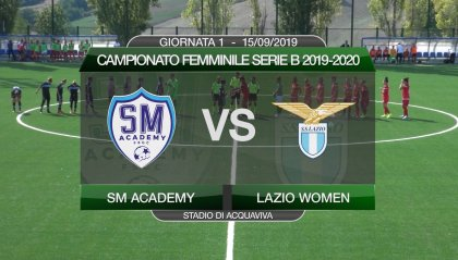 San Marino Academy - Lazio Women 2-2