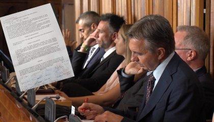 """L'Aula approva all'unanimità un odg """"che fa chiarezza"""""""