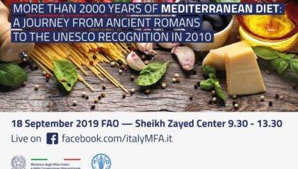 San Marino in prima linea con l'Italia in favore della dieta mediterranea