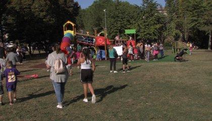 Pro Bimbi, una nuova area giochi per festeggiare il decennale