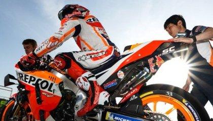 "MotoGP: ad Aragon ""solita"" pole di Marquez. Quartararo segue, Rossi sesto"