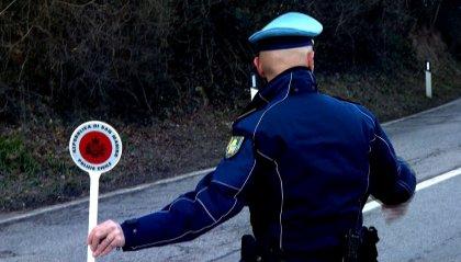 Polizia Civile: controlli a Borgo Maggiore, ritirate tre patenti