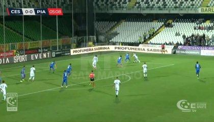 Cesena-Piacenza 1-1