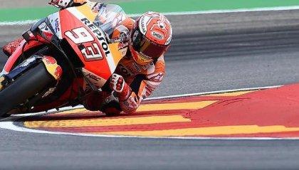 Marquez domina e vince ad Aragon